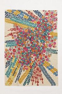 anthro confetti rug