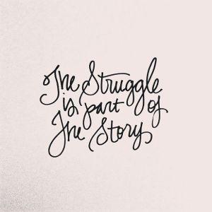 struggle part of story