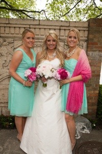 wedding holly and twins 1