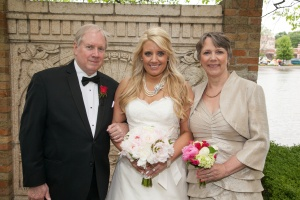 wedding holly mom and dad