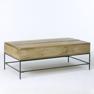 west elm rustic storage coffee table