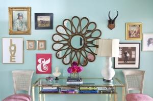 caitlin  wilson turquoise foyer