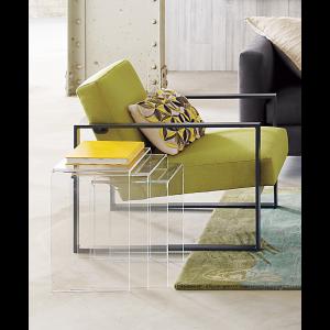 cb2 acrylic nesting tables