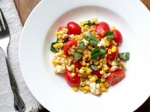 Corn Tomato Feta Picture